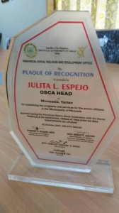 Best Senior Citizens Center of 2017 in the entire Province of Tarlac (4)